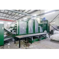 Buy cheap HongYi-2 Years Warranty High Efficiency Nonwoven Carding Machine Double Doffer For Wool from wholesalers
