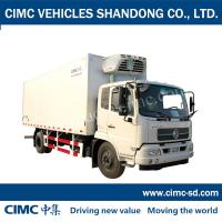 Buy cheap 8 Ton 4*2 DONGFENG Chassis Enclosed trailer cube van cargo van commercial vans for sale from wholesalers