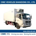 Buy cheap JG5160XLC4 8 Ton 4*2 refrigeratorboxtruck refrigerated van truck truck body CKD from wholesalers