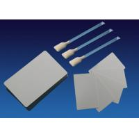 Buy cheap White Evolis Printer Cleaning Kit Adhensive Cards And IPA Swabs 54 * 90mm from wholesalers