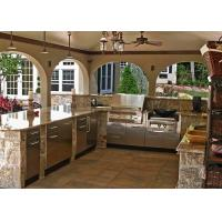 Buy cheap Luxury  Stone Modern Kitchen Countertops / Pre Cut Marble Countertops from wholesalers