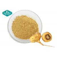 Buy cheap Dark Yellow Maca Root Supplement High Purity Water Soluble Extract From Medicinal Herb from wholesalers