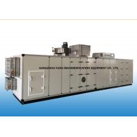 Wholesale PLC Automatic Industrial Air Dehumidifier With Cooling Coil 6000m3/h from china suppliers