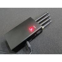 Wholesale 4 Antenna Handheld Signal Jammer , High Power Mobile Phone Jammers For Cars from china suppliers