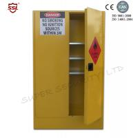 Buy cheap New Paddle Lock, 250L Dangerous Goods Storage Cabinets, Two 2 Vents with Flash from wholesalers