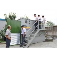 Buy cheap Carbon Steel Or SS MBR Equipment /  Package Sewage Treatment Plant Biological Process from wholesalers