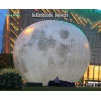 Giant 10m Inflatable Light Moon for Party and Stage Decoration Manufactures
