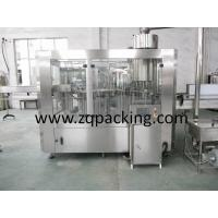 Buy cheap Sterilizing/Washiing/Filling/Capping 4in1 monoblock Water Bottling Machine,Still/ Pure Water Filling from wholesalers
