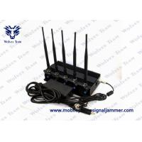 Cell Phone GPS Jammer 5 High Power Antenna Outstanding Heat Dissipation