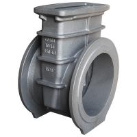Buy cheap Industrial Parts Flanged Gate Valve Body Casting Flow Controlling DIN Pn16 from wholesalers