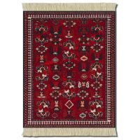 Buy cheap 220x170mm Wear-resisting Uneasy Deformation Carpet fabric + Natural Rubber + Ribs rug mouse mats from wholesalers