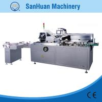 Round / Square Bottle Automatic Cartoning Machine With Auto Feeding And Packing