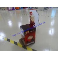 Buy cheap Counter top display for coffee promotion from wholesalers