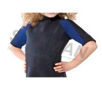 Buy cheap Premium Neoprene 2mm Kids Shorty Wetsuit Laminated With Nylon Jersey Double Side from wholesalers