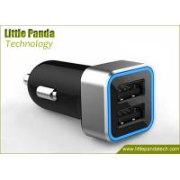 Buy cheap Latest 5V 2.4A Portable Dual USB Universal USB Car Charger with Fast Speed Charging from wholesalers