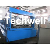 Joint Hidden Roof Panel Roll Forming Machine For Making Standing Seam Roof Panel Manufactures