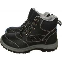 Buy cheap Balck PU sole men safety shoes from wholesalers