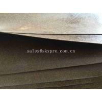 Gasket Materials Cork Rubber Sheet Roll ROHS Durable Rubber Sealing Gaskets Manufactures