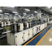 Buy cheap High Performance Disposable Breathing Mask Production Face Mask Manufacturing Machine from wholesalers