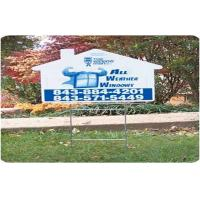 Buy cheap Indoors Outdoors Coroplast Sheet Coroplast Signs With Full Color Printing from wholesalers