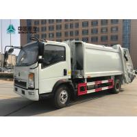 Buy cheap Sinotruk Howo 4x2 Compact Garbage Truck Euro 3 120hp 9cbm Without Sleeper from wholesalers