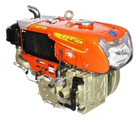 Buy cheap 2400RPM 10.3KW 14HP Single Cylinder Generator Set Diesel Engine from wholesalers