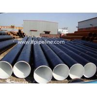 Buy cheap SAWH LSAW steel line pipe for transport oil and gas from wholesalers