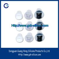 Buy cheap Customized rubber silicone earphone earbuds with double hardness from wholesalers
