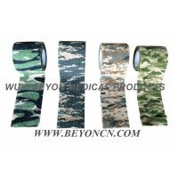 Camo Cohesive Bandage Residue Free, Reusalbe, Washable for Camping and Hunting Manufactures