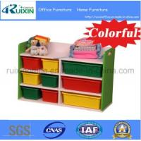 Buy cheap Hot Sale Wooden Kid Book Shelf /Magazine Rack/Toy Organizer (RX-E6116) from wholesalers