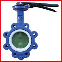 Buy cheap High Temperature Butterfly Valves 3 Way Ductile Iron / Stainless Steel from wholesalers