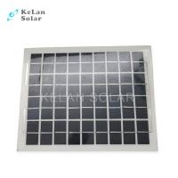 Wholesale Sun Power Crystalline Semi Flexible Solar Panel 10Wp Water Proof  For Boat / Car from china suppliers