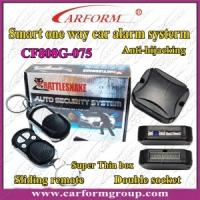 Buy cheap One Way Car Alarm CF808G System, Double Socket, Anti-hijackin Auto Alarms Systems from wholesalers