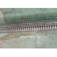 China Stainless Steel Round Hole Tube / Square Hole Punching Porous Filter Tube Filter Skeleton Support Tube on sale