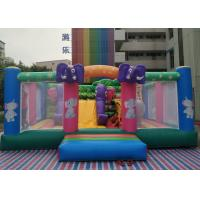 Buy cheap 0.55MM PVC Elephant Theme Jumping Castle Jumping Bouncer Inflatable Bouncer from wholesalers