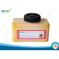 Buy cheap 1.2L Yellow Coding Ink Domino Cartridge IR-261BK Abrasion Resistant product