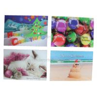 China CMYK Offset Custom Lenticular Printing Cards 100% Recyclable UV Printing on sale