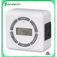 Buy cheap 7days digital timer with ETL certificate from wholesalers