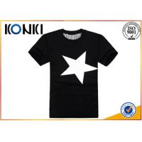 Buy cheap Summer Mens Casual Custom T Shirt Printing Personalised With Short Sleeve from wholesalers