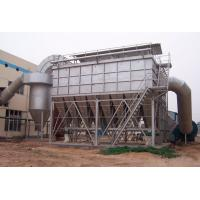Buy cheap 150 Degree Pulse Dust Filter With Cloth Bag , Industrial Baghouse Dust Collectors from wholesalers