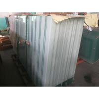 China 10mm Toughened  Tinted Tempered Acid Etched Glass Panels For Office Wall / Door on sale