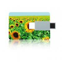 Buy cheap USB Cable, CD Driver, Lanyard Credit Card Usb Stick with CE / FCC / Rohs from wholesalers