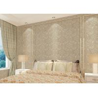Wholesale Floral decoration contemporary bedroom wallpaper , Nonwoven modern wallpaper for bedroom from china suppliers
