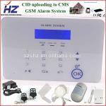 Buy cheap wireless siren with door/smoke/PIR sensor house burglar alarm system from wholesalers