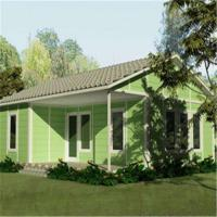Buy cheap Ready Designed Steel Frame Prefabricated Houses Customized Living Home product