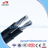 Buy cheap 1kv / 11kv Abc Cable Service Drop Duplex Conductor , B 399 Aluminum Underground Wire from wholesalers