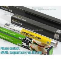 Buy cheap good quality household aluminium foil rolls and wrapping paper, perforated aluminum foil insulation roll from wholesalers
