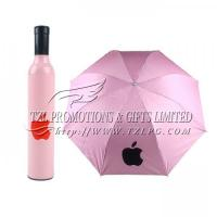 Buy cheap Promotional Bottle Umbrellas, LOGO/OEM available Apple Umbrella FD-B401 from wholesalers