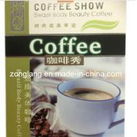 Coffee Show Brazil Body Beauty Slimming Coffee High Quality Natural Green Herbal Health Slimming Coffee Manufactures
