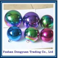Buy cheap Rainbow Color Stainless Stee Sphere for Christmas Party Supplies from wholesalers